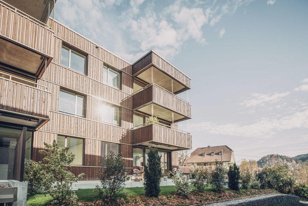 Gfeller Holzbau Fassadenbau