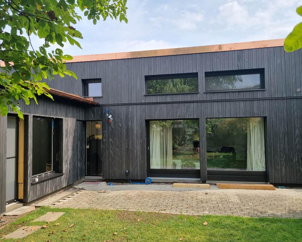 Fassade in Holz