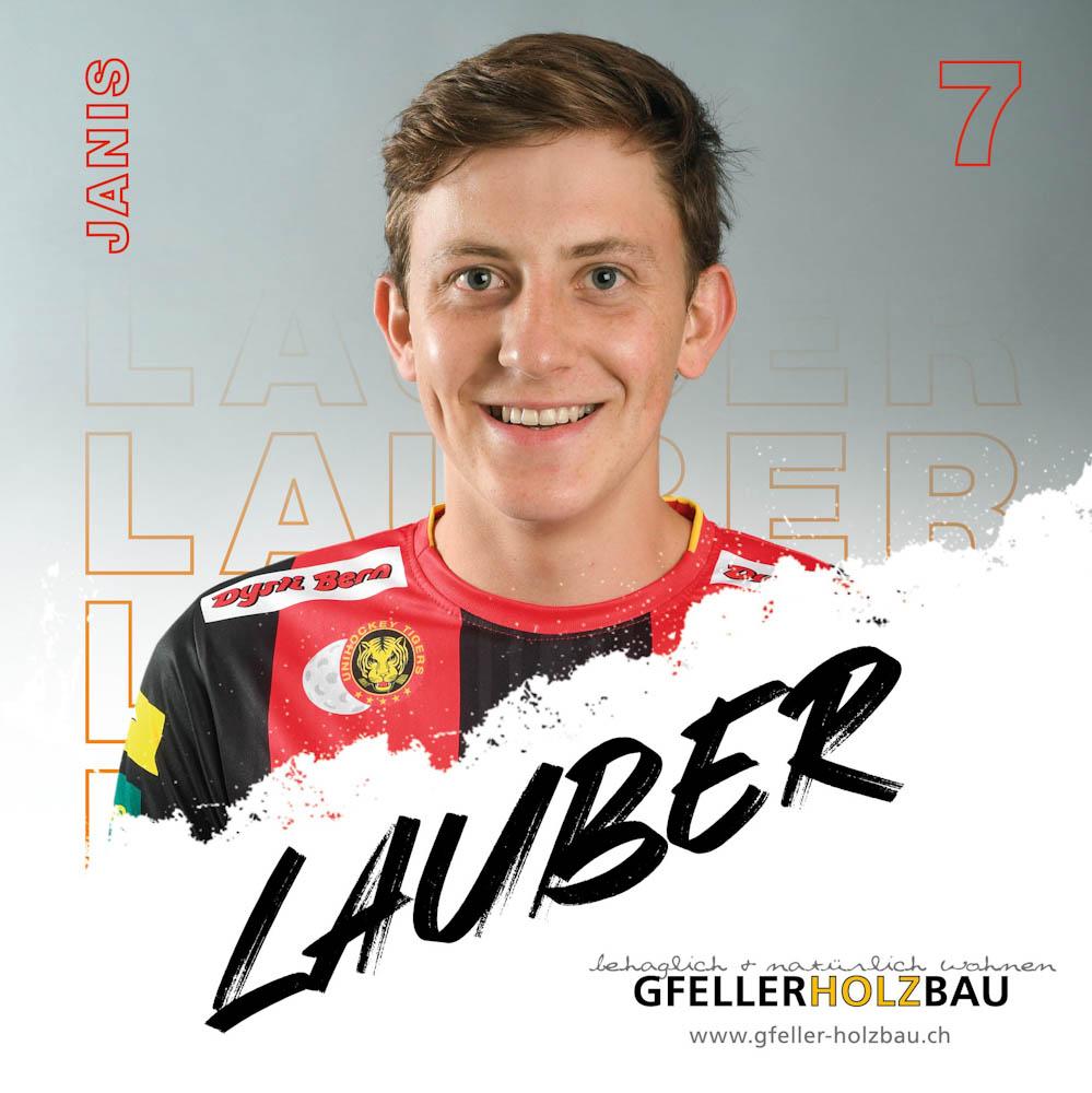 Janis Lauber Unihockey Tigers